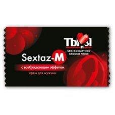 Крем для мужчин Sextaz-M ( M9 ) с разогревающим эффектом 1,5 гр