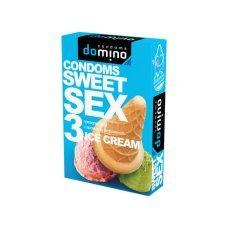 Презервативы Luxe DOMINO SWEETSEX мороженое №3