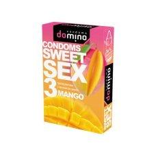 Презервативы Luxe DOMINO SWEETSEX манго №3