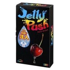 Sagami Jelly Push с настраиваемым количеством лубриканта