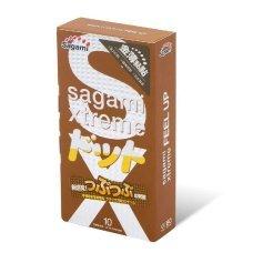 Презервативы SAGAMI Xtreme Feel UP усиливающие ощущения 10 шт
