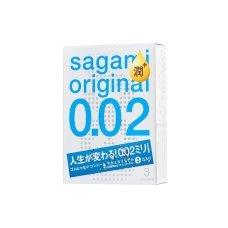Презервативы Sagami Original 002 полиуретановые EXTRA LUB 3 шт